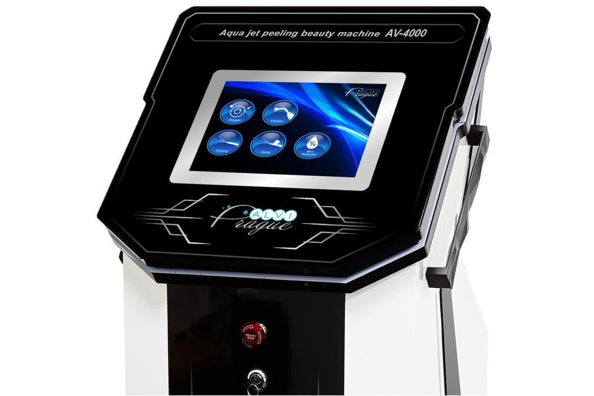 Kosmetický hydrafacial přístroj pro kyslíkovou terapii AV-4000