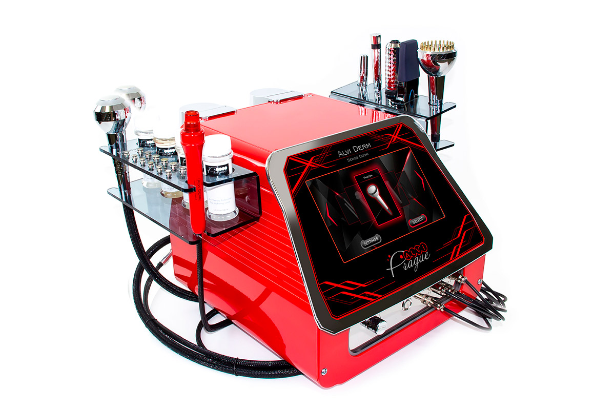 kosmetické přístroje kosmetický přístroj hydrodermabraze alviderm
