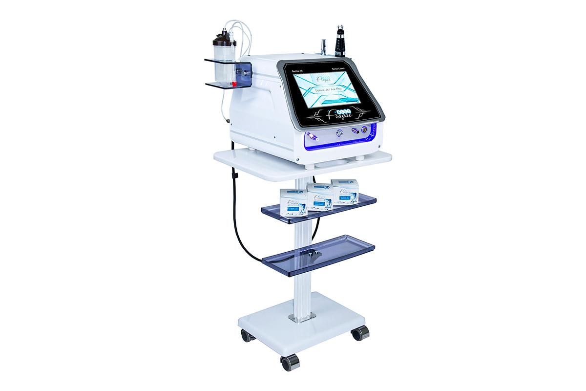 přístroj pro neinvazivní mezoterapii plynokapalinový peeling dermajet airpro