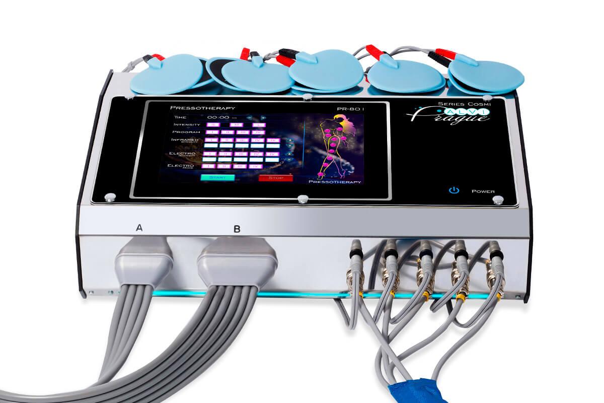 lymfodrenážní přístroje lymfodrenážní přístroj pr-801