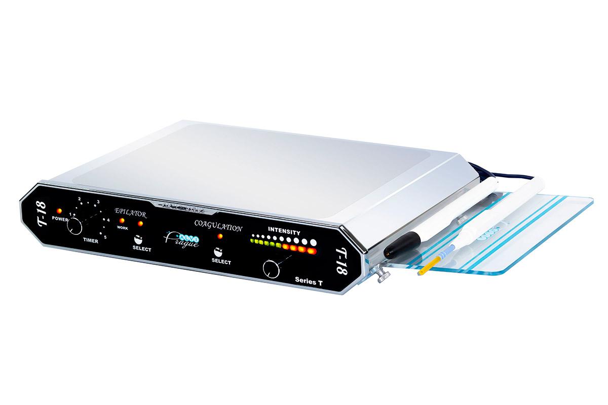 elektrický epilátor t-18 elektrokoagulátory