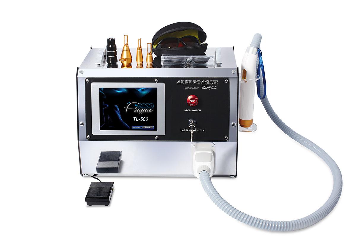 yag laser odstranení tetování neo-light tl-500