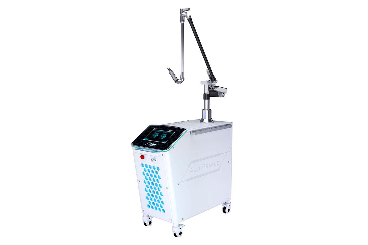 kosmetické lasery yag laser krátkými pulzy pro odstranění tetování pulsar tl-600 neo yag lasery