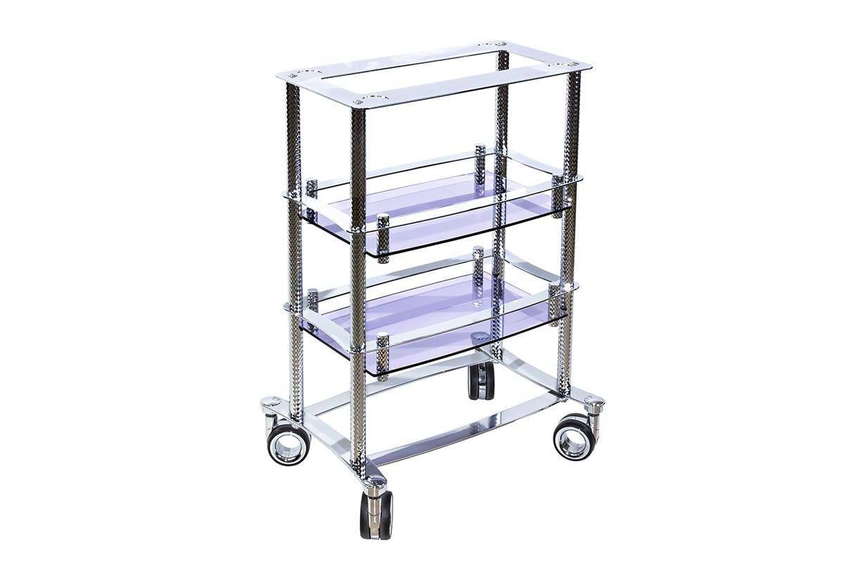 Kosmetologický vozík Design Pure Chrome M 1