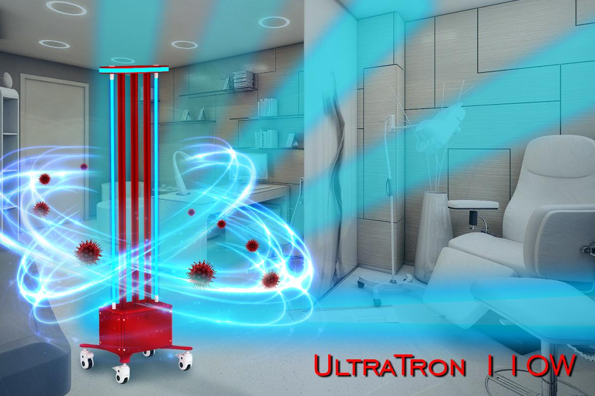 Germicidní UV lampa UltraTron-110W (2 lampy) baktericidní zářič ultratron-110w lampy