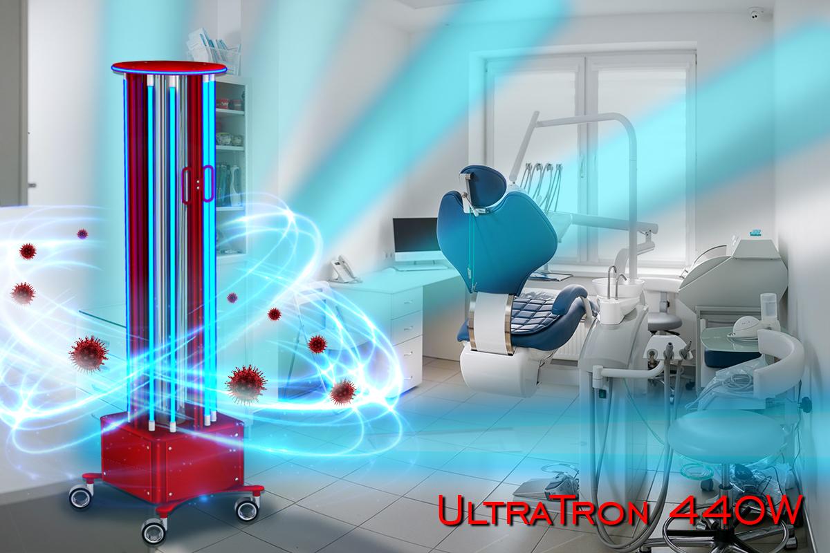 Germicidní UV lampa UltraTron-440W (8 lamp)